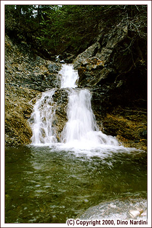 Mill Brook Falls, Cape Chignecto Park