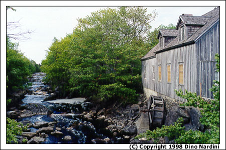 Old Mill, Sable River
